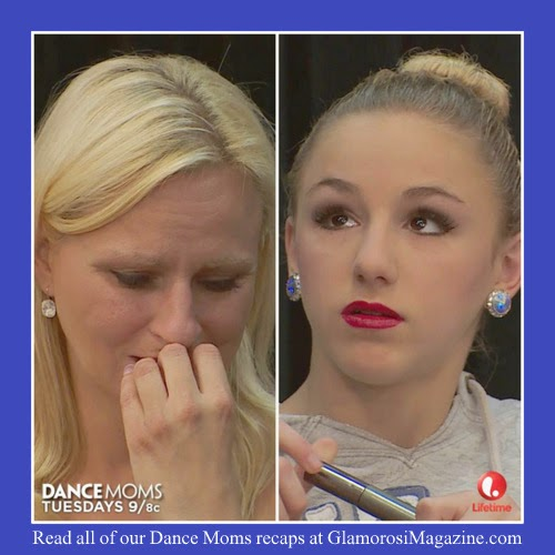 Christi Lukasiak and daughter Chloe, stars of Dance Moms on Lifetime