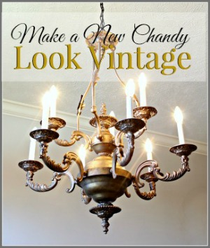 DIY Vintage Chandy
