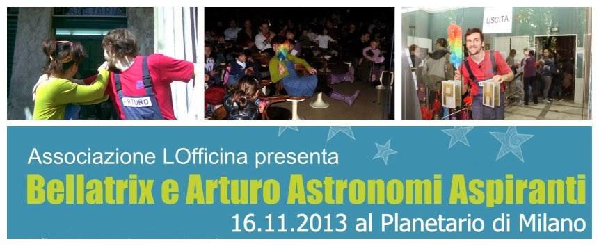 Cosa fare coi bambini a Milano nel weekend: spettacoli di animazione astronomica de LOfficina