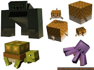 Quintessential Creatures 2.0 Mod para Minecraft 1.7.10