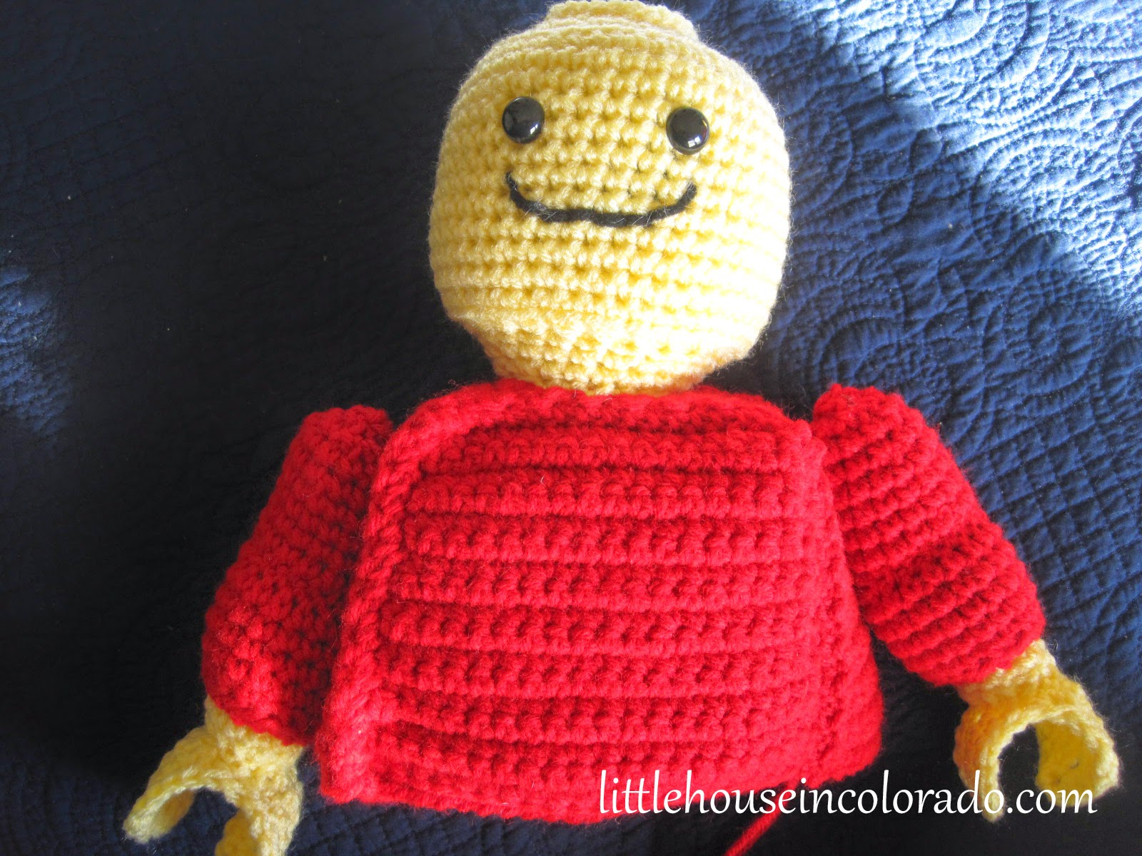 Amigurumi Attaching Arms : Little House In Colorado: Pattern For Amigurumi Crochet ...
