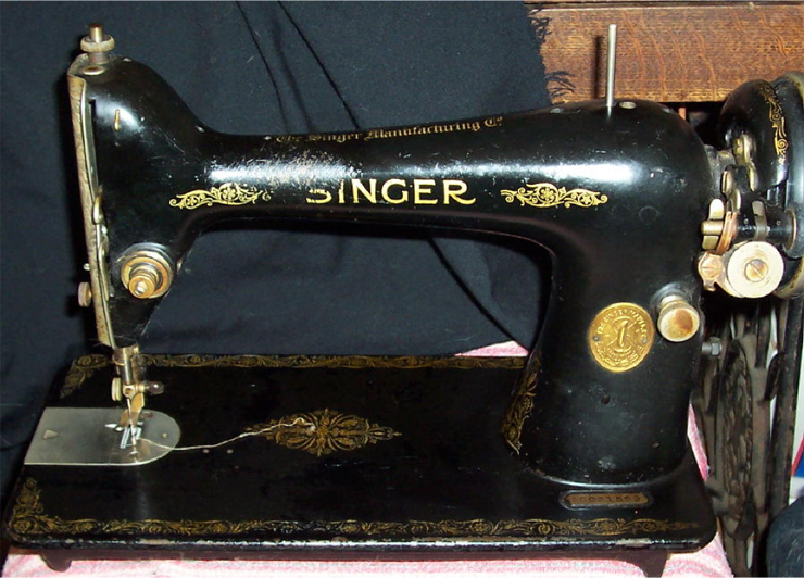 The Vintage Singer Sewing Machine Blog A Visual Guide To Classy Singer Sewing Machine 66