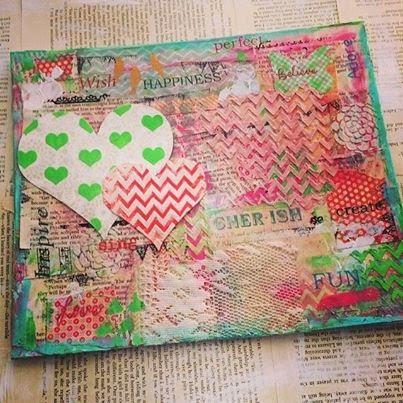 http://www.kokovanilladesigns.com.au/store/diy-craft-scrapbooking-kits/mixed-media-creative-canvas-workshop-for-kids-monday-14th-april-1pm-3pm/