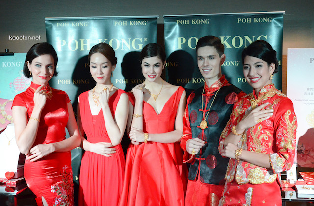 Beautiful people, wearing beautiful Poh Kong jewelleries