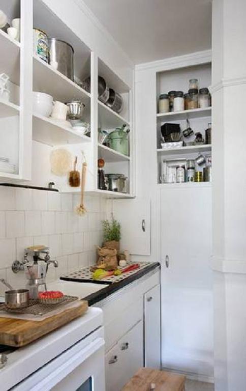 50 fotos para decoracion de cocinas super peque as for Cocinas super pequenas