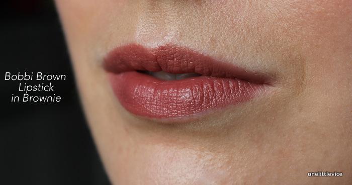 one little vice beauty blog: dark nude lipstick autumn