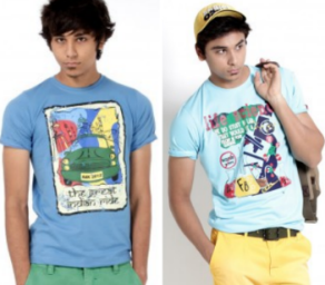 Buy PROBASE CASUAL PLAIN Men's T-shirts at Flat 10% off + Extra 50% off