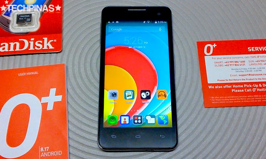 O+ 8.17, O+ Hexa Core Android Smartphone