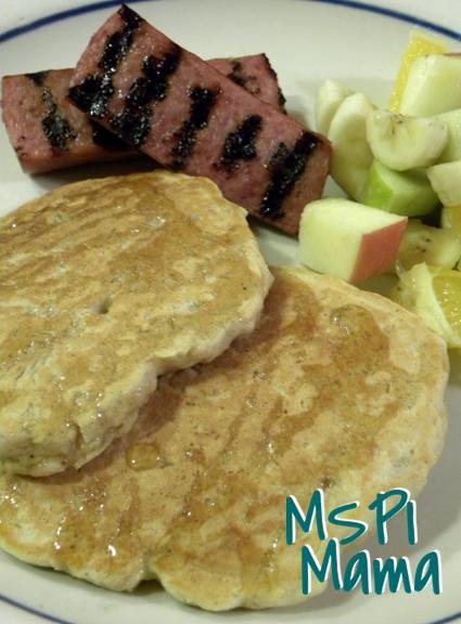 these gluten free apple whole grain oatmeal pancakes whole grain ...