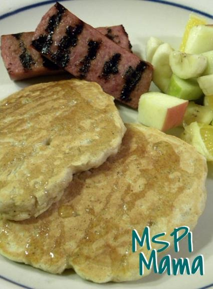 MSPI Mama: Whole Grain Apple Oatmeal Pancakes