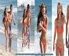 Nathalia Ramos shows off her beach body in orange bikini