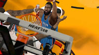 NBA2K12 James Harden Cyber face beard Patch