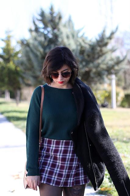 falda tartan