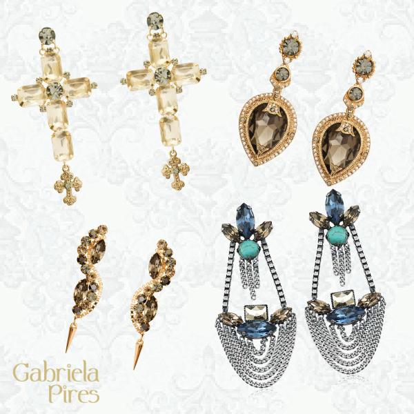 Dicas de presente para o Dia das Mães - semijoias de luxo - brinco Gabriela Pires