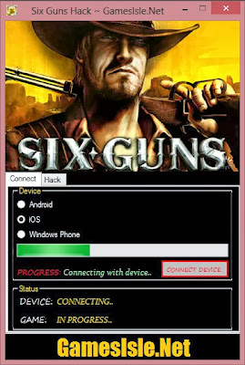 Six Guns Hack App