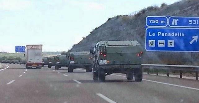 la-proxima-guerra-vehiculos-militares-entran-en-barcelona-espana