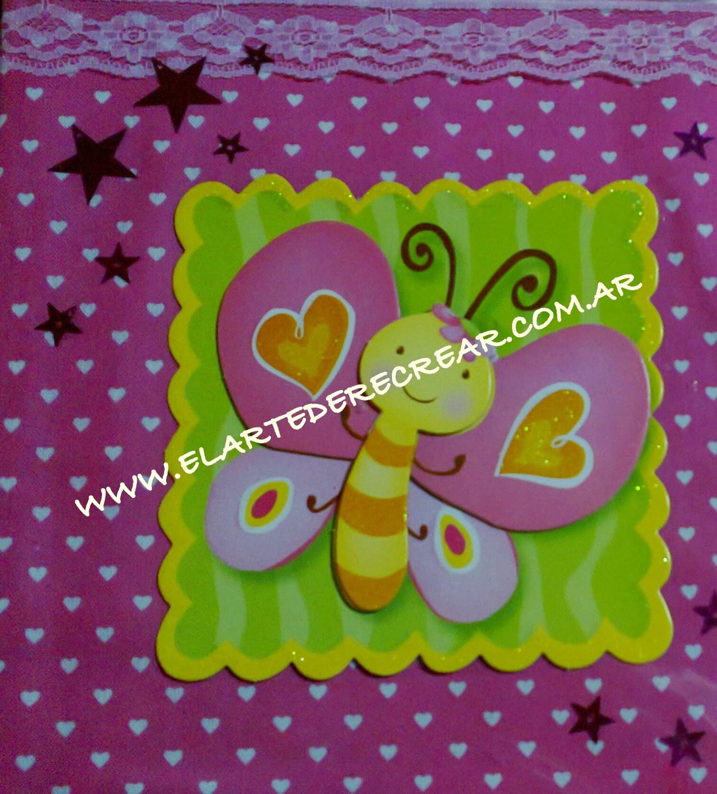 Lbum de fotos carpeta forrada con tela recrear - Telas con dibujos infantiles ...