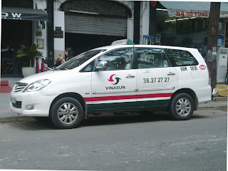 Taxi in Vietnam: Vinasun