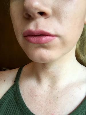 beauty blogger, beauty review, kylie jenner nude lip, perfect nude lip, Revlon, revlon matte balm elusive review, rimmel, rimmel exaggerate lip liner review,