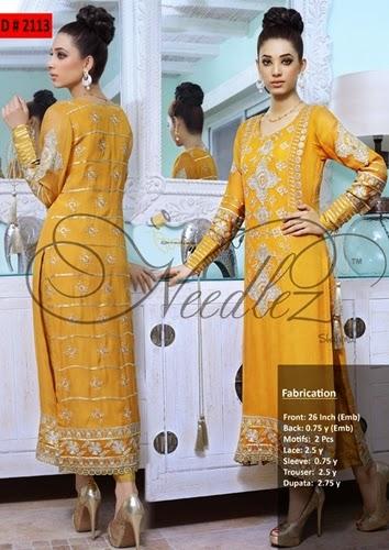 Needlez Shalimar Unstitched Sumemr dresses