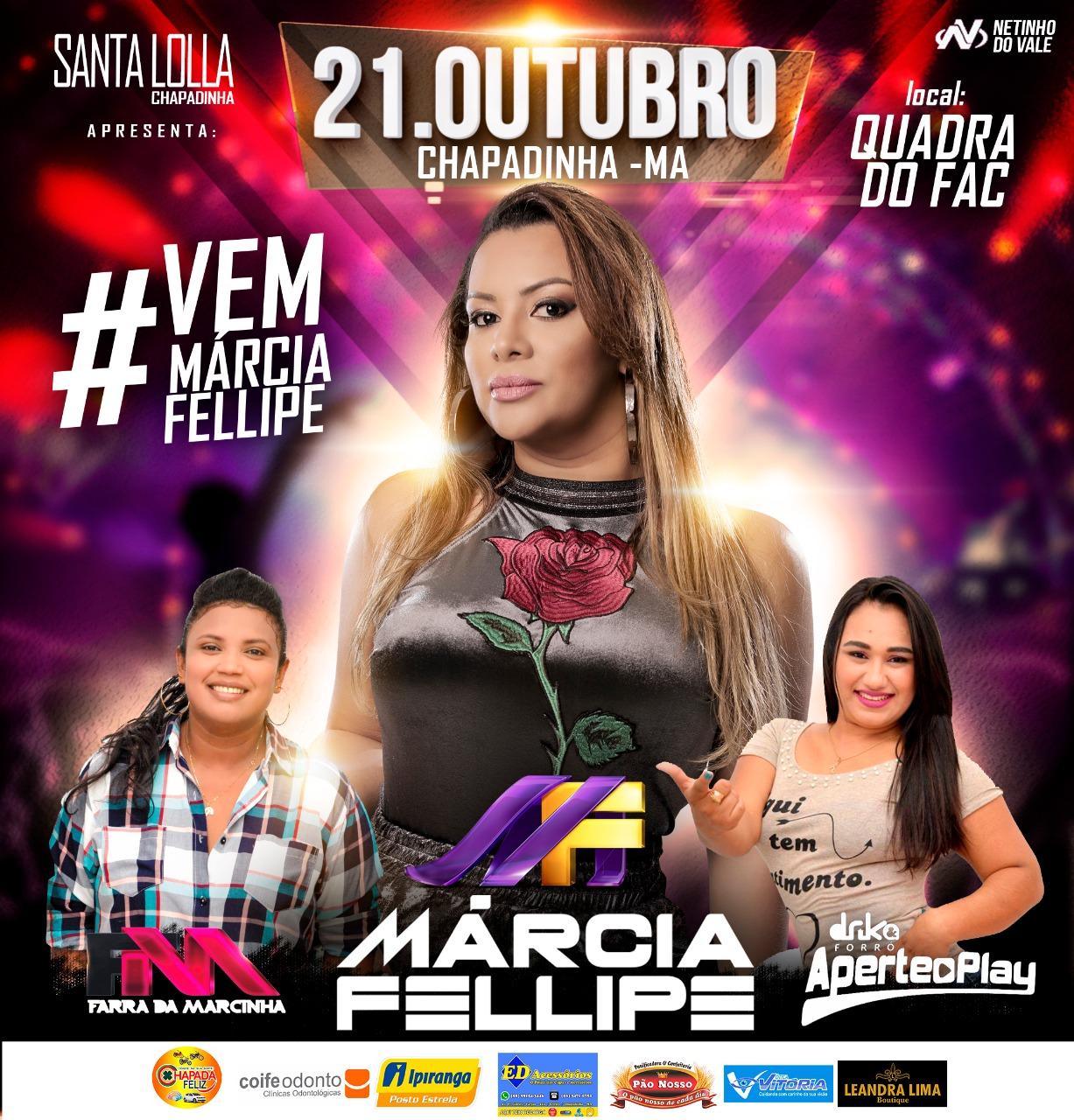 Dia 21 de Outubro - Márcia Felipe