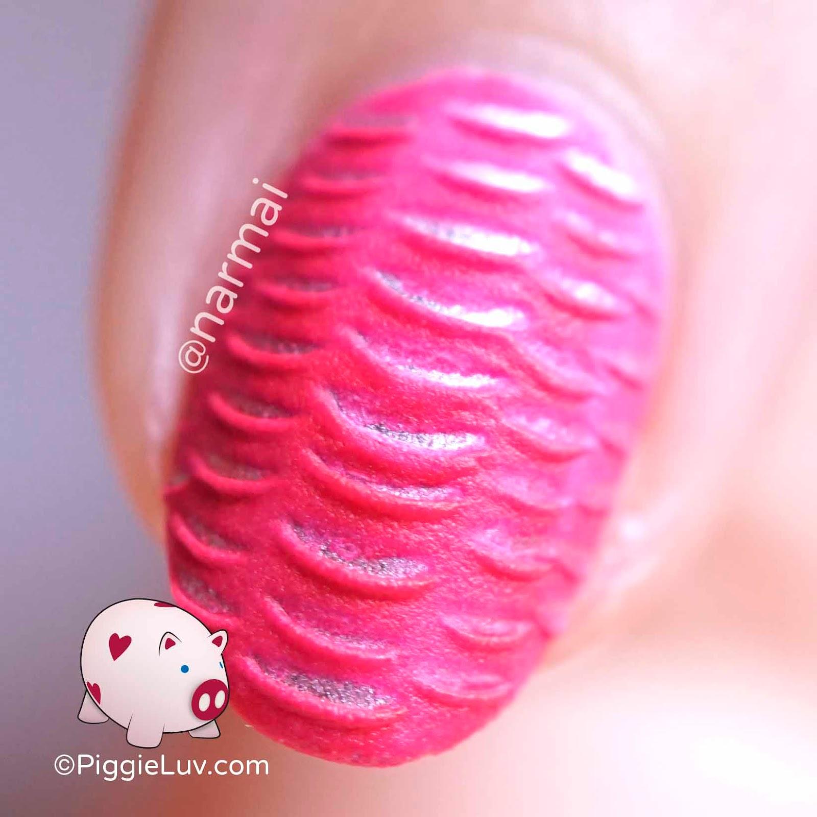 Piggieluv Nail Art Using Silicone Brushes