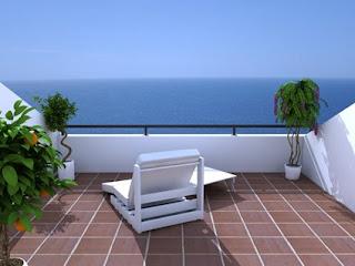 Mediterranian Terrace Design