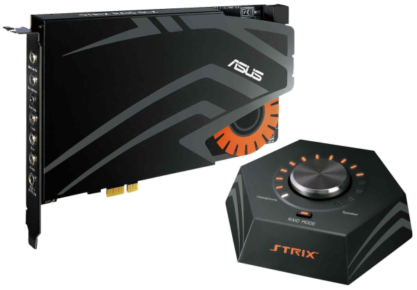Asus Strix Raid Dlx sound card