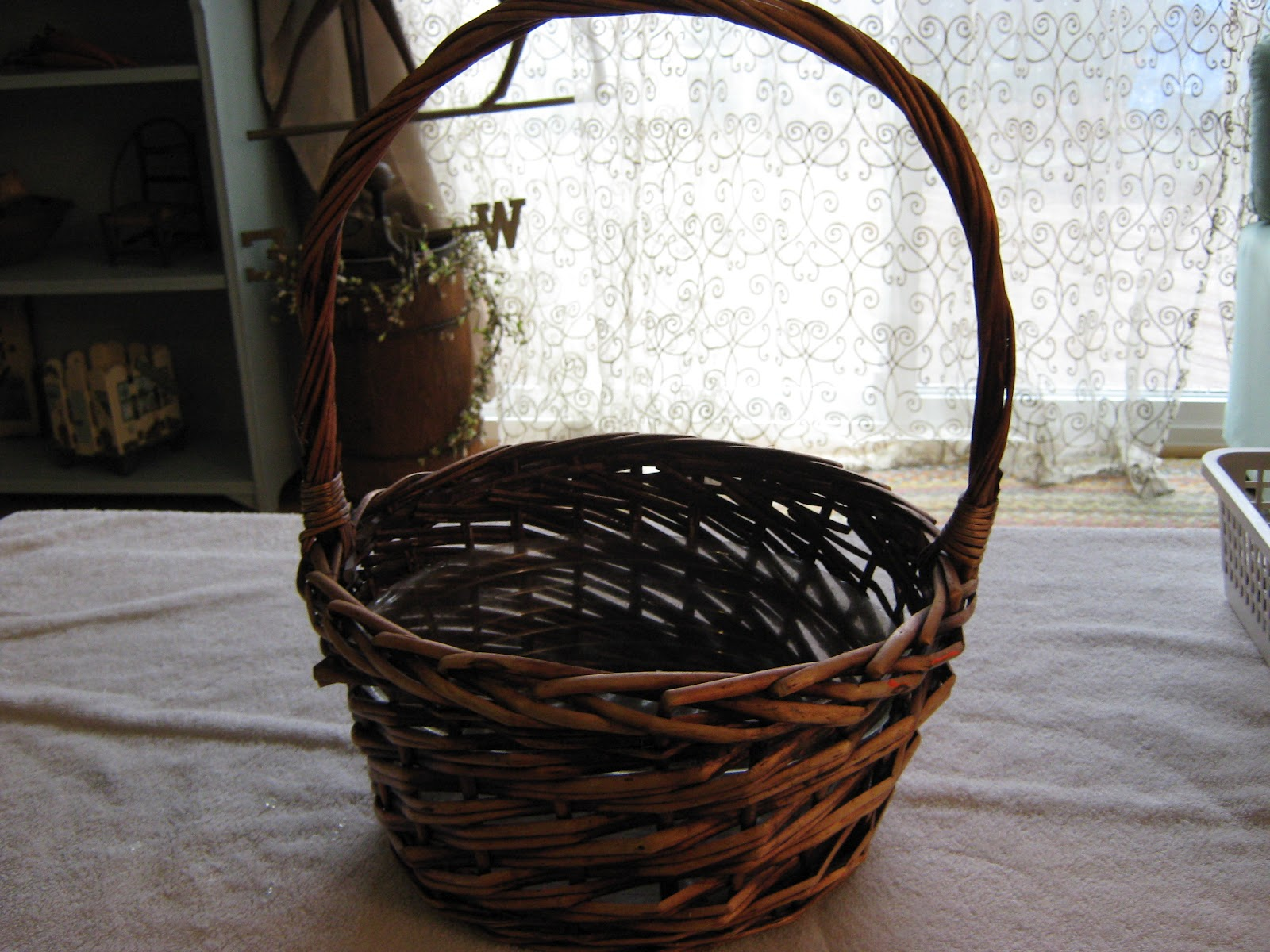 Fake It Frugal Pottery Barn Mossy Easter Basket