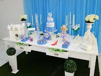 Decoração de festa infantil Cinderela Porto Alegre