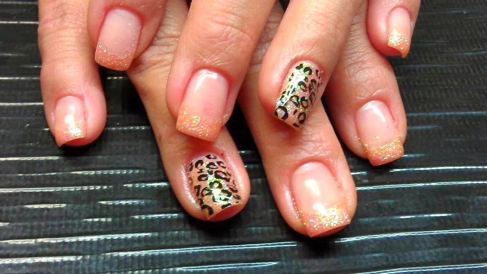 Gel-color French Manicure special lovely Peachy beige natural pearl to cover coat