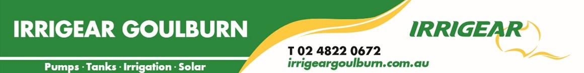 Irrigear Goulburn - Goulburn Water Systems