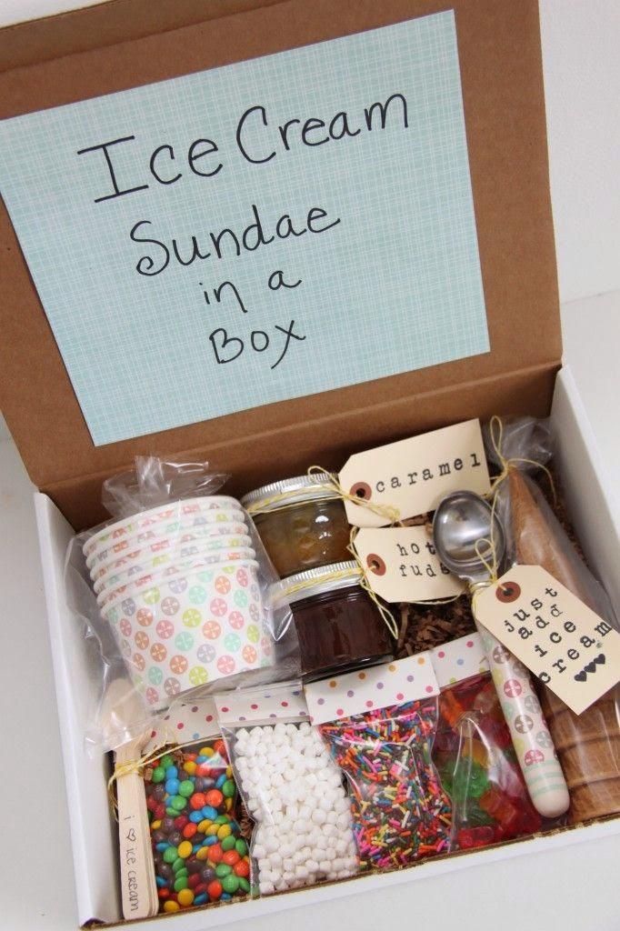 Подарок на день рождения что положить в коробку 23