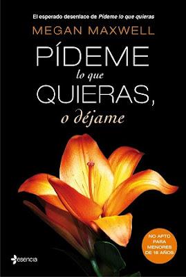 """PORTADA Y BOOKTRAILERDE """"PÍDEME LO QUE QUIERAS O DÉJAME"""""""
