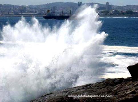 Punta Bufadoiro. Mera (Oleiros)