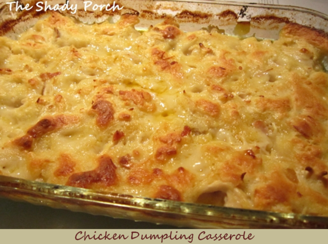 chicken and dumpling casserole recipe with bisquick