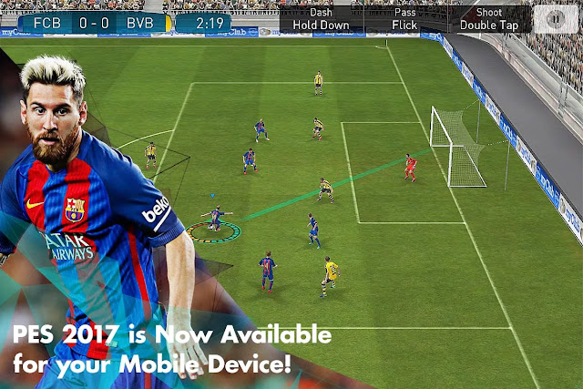Take total control of every action on the pitch in a way that only the Pro Evolution Soccer franchise can provide