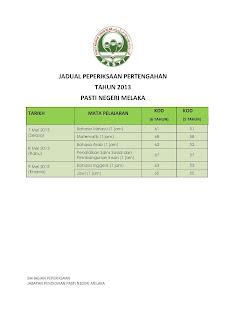 2013 ke 7 Mei 2013 selepas mengambil kira Pilihanraya Umum ke 13 yang