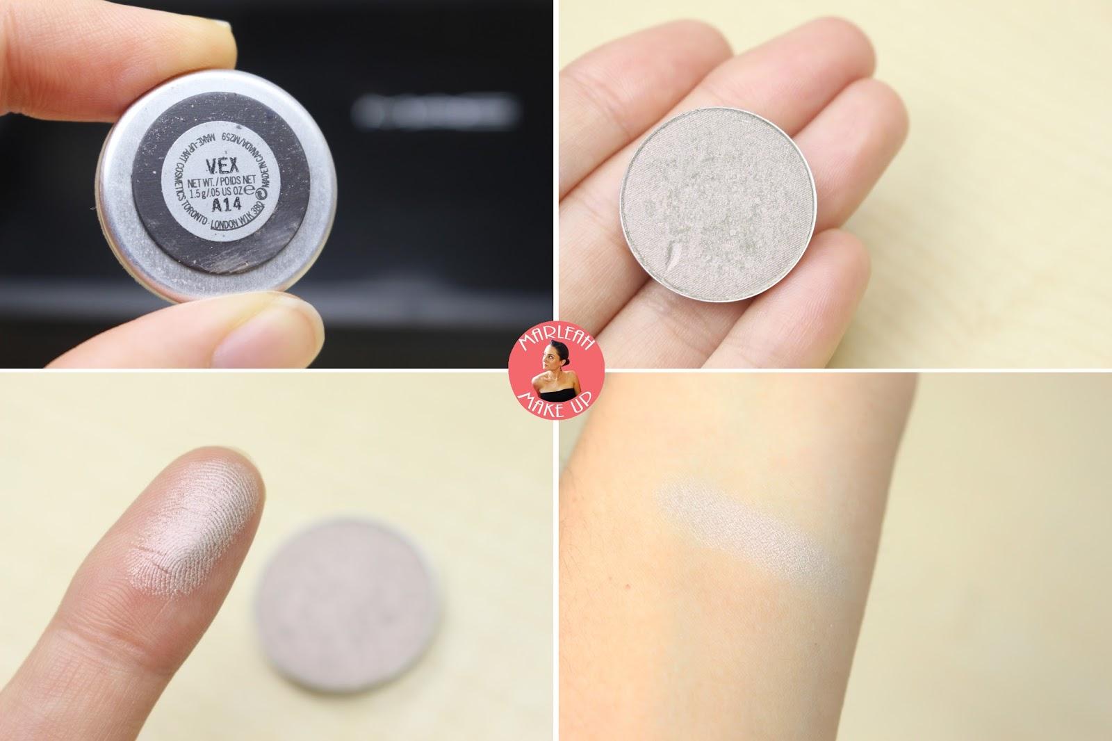 sombras eyeshadow MAC vex makeup palette godet