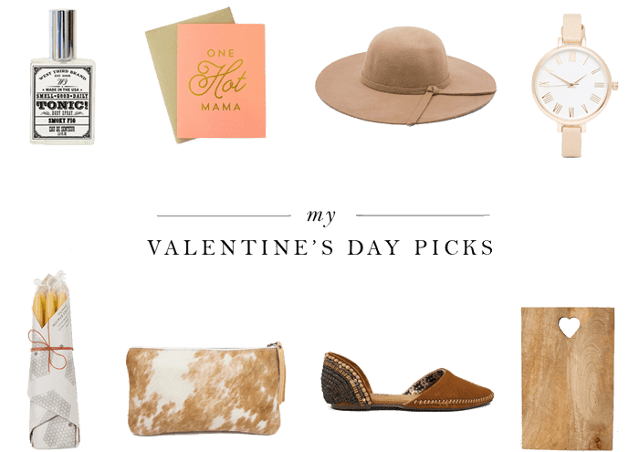 Valentine's Day Gift Guide for the modern hip gal