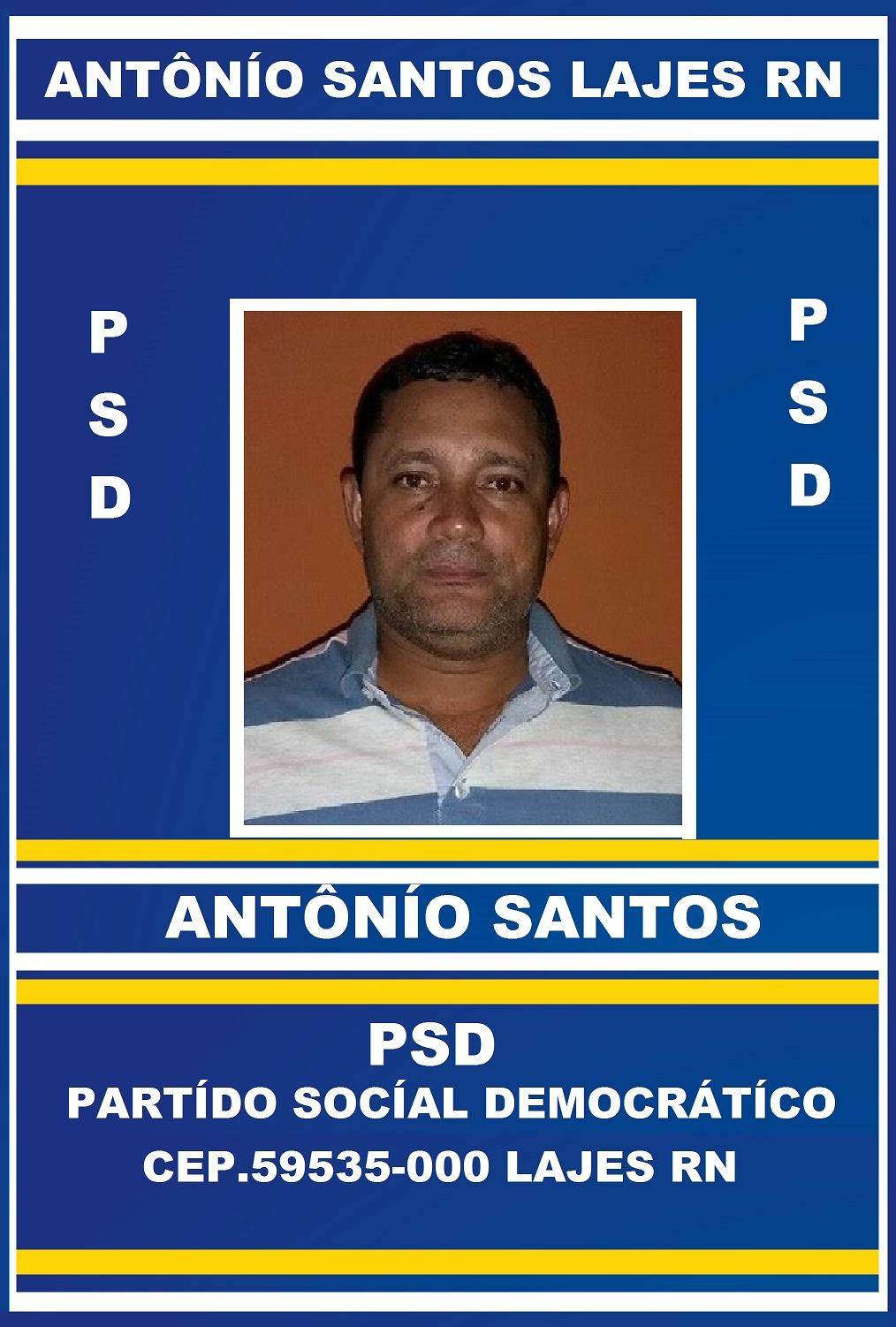 ANTÔNÍO SANTOS PSD LAJES RN