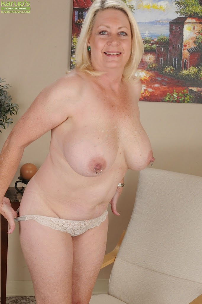 image Angelique rockstar blond bbw