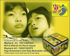 Hope 2 Walk - Membantu Untuk Si Kecil Ini..