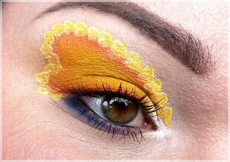 Sailor Venus Augenmakeup