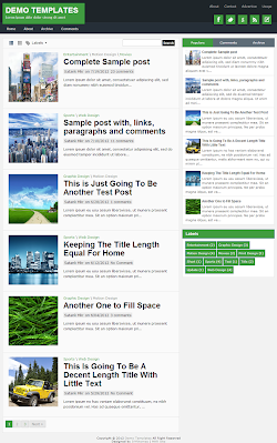 TheTuts Green Blogger Template