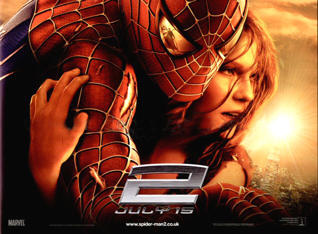 Spider Man 2 ไอ้แมงมุม ภาค 2 HD 2004