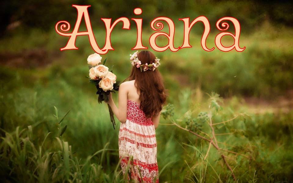 la plus belle photo de Ariana.