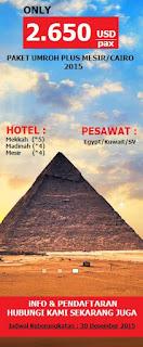 umroh plus Cairo Mesir