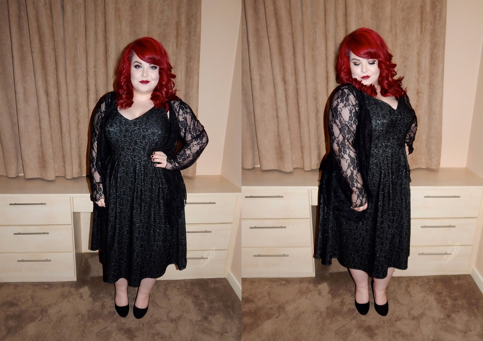 Kelly brooke dress, celeblook cardigan, plus size blogger