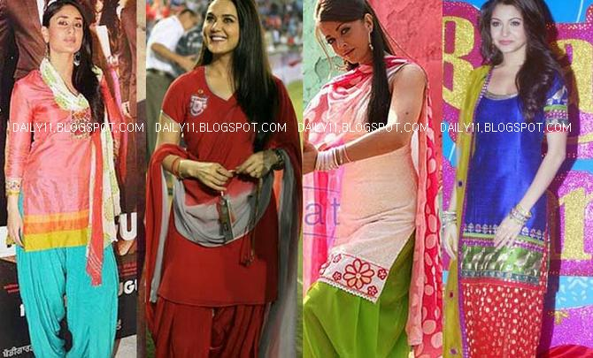 DAILY11: PUNJABI SUIT HEROINES WITH DESI TADKA